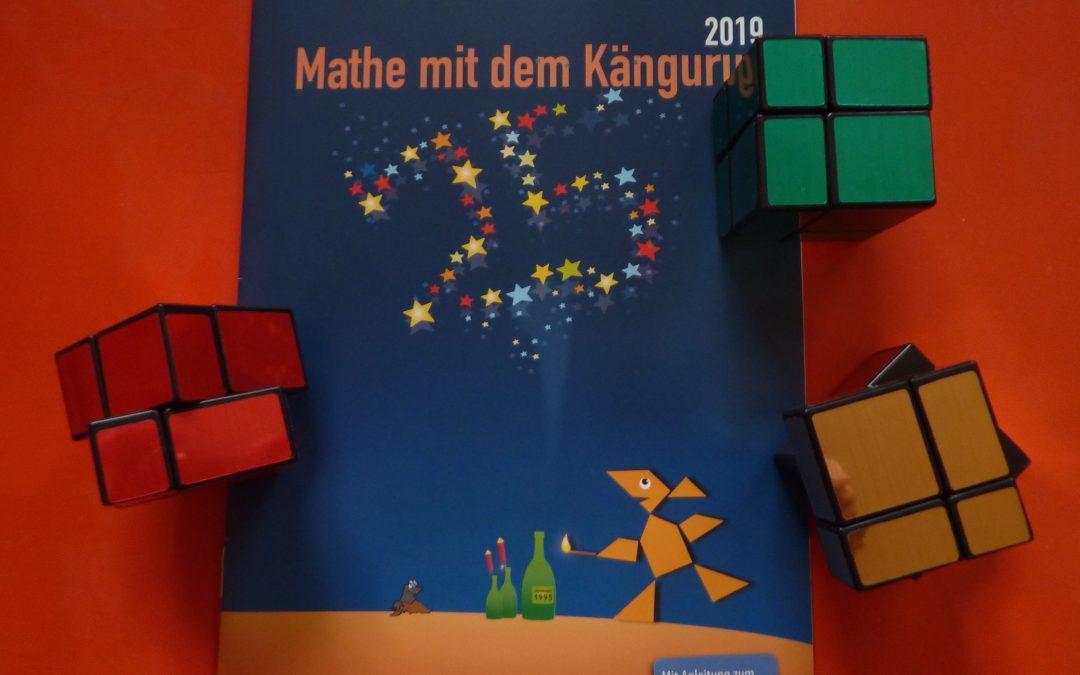 Siegerehrung Känguru-Wettbewerb 2019